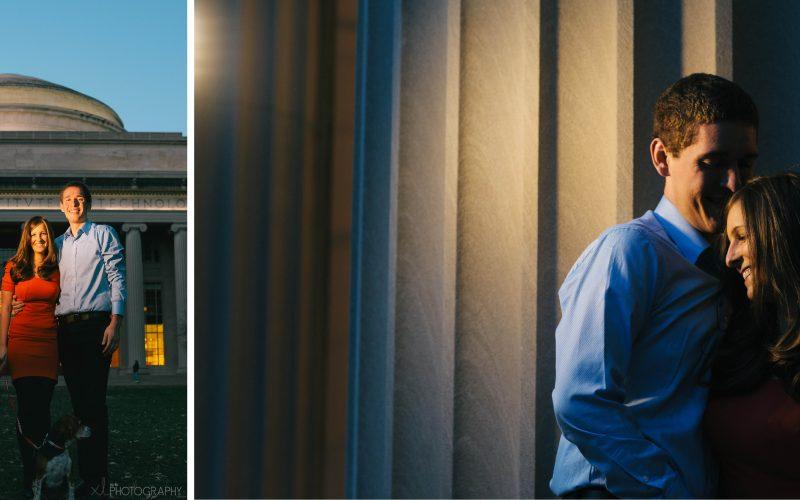Geneve & Paul / Massachusetts Institute of Technology / Boston Couple Photography
