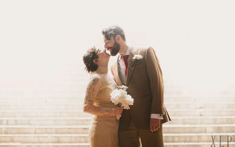 Jem & Alex / Central Park Bow Bridge / New York City Destination Wedding