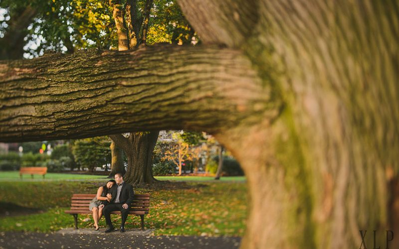 Melissa & Luther / Downtown Boston / Sunrise Session