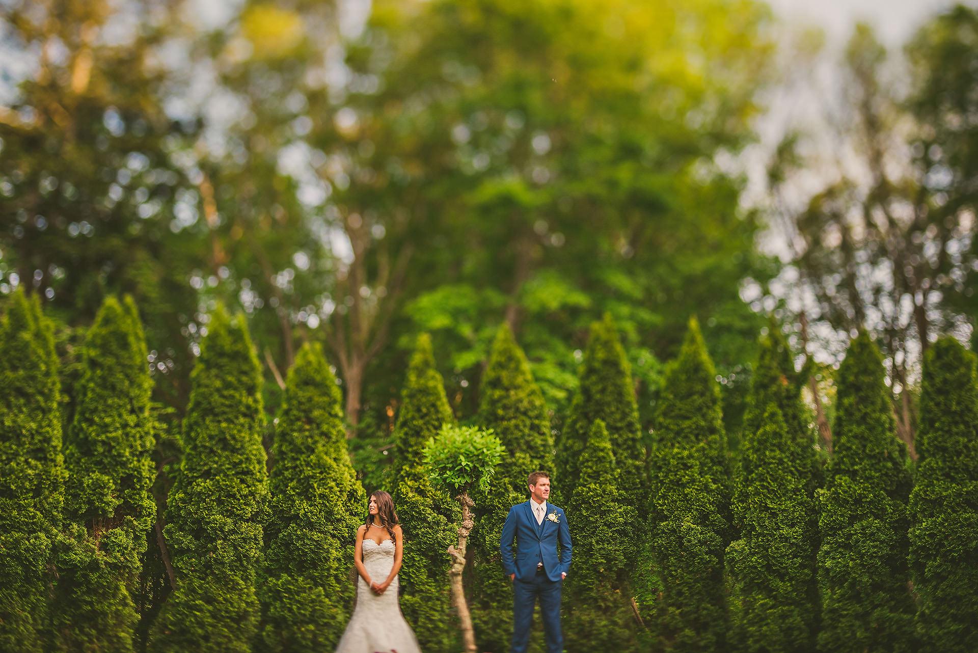 Glen Manor wedding portrait