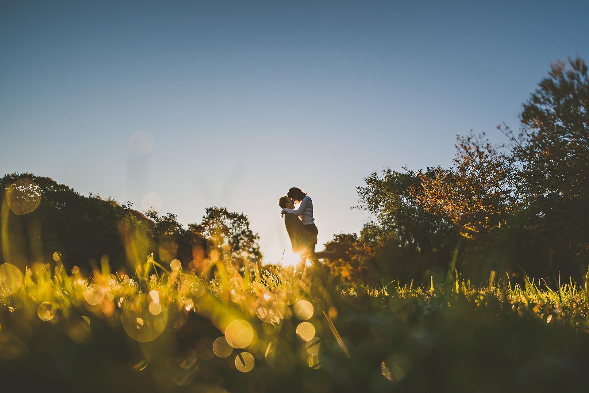 Arnold Arboretum sunrise engagement