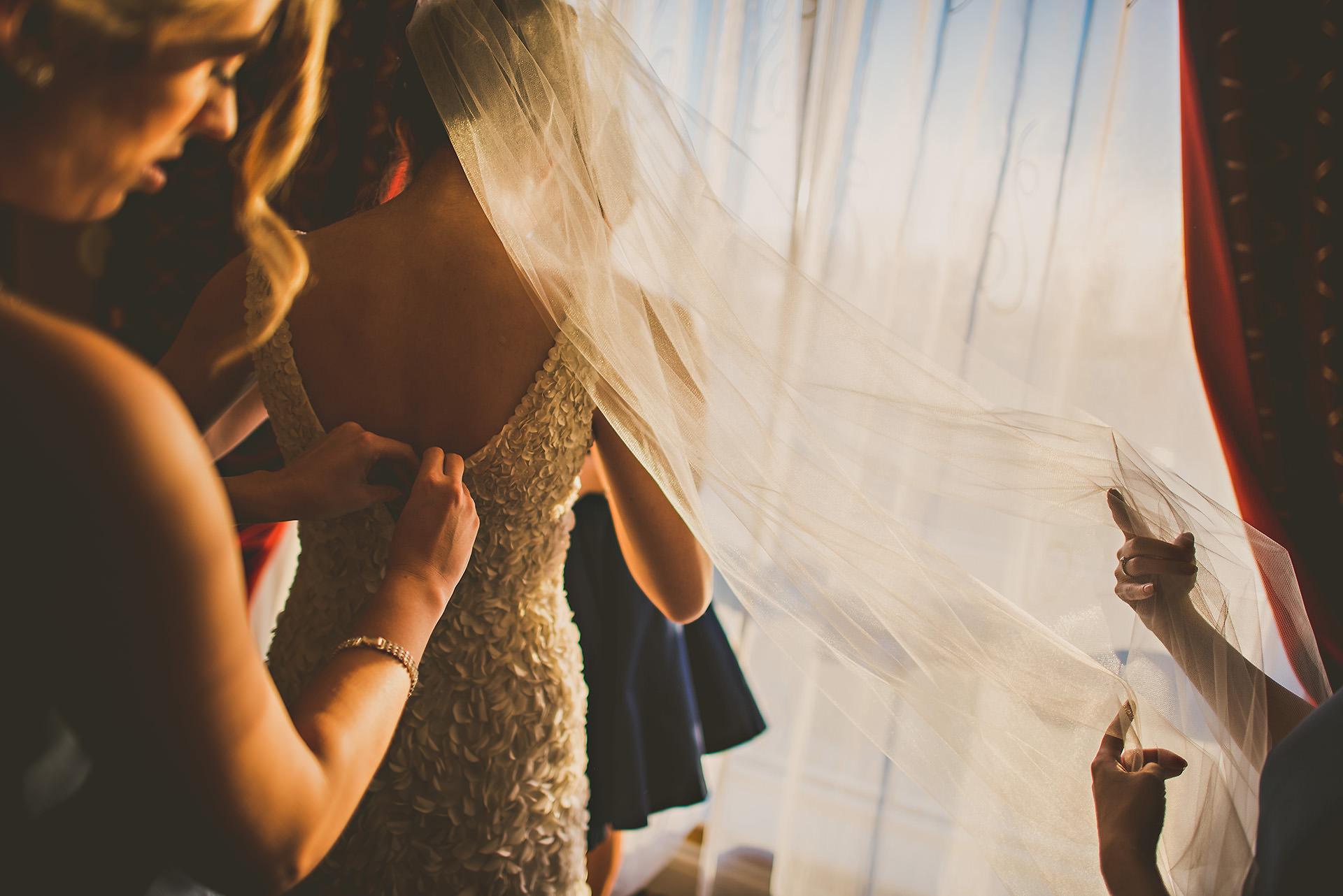 Hotel Marlowe bridal preparation