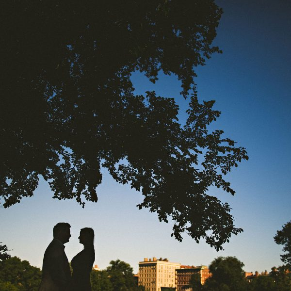 Kate + Ryan / Boston Common Engagement
